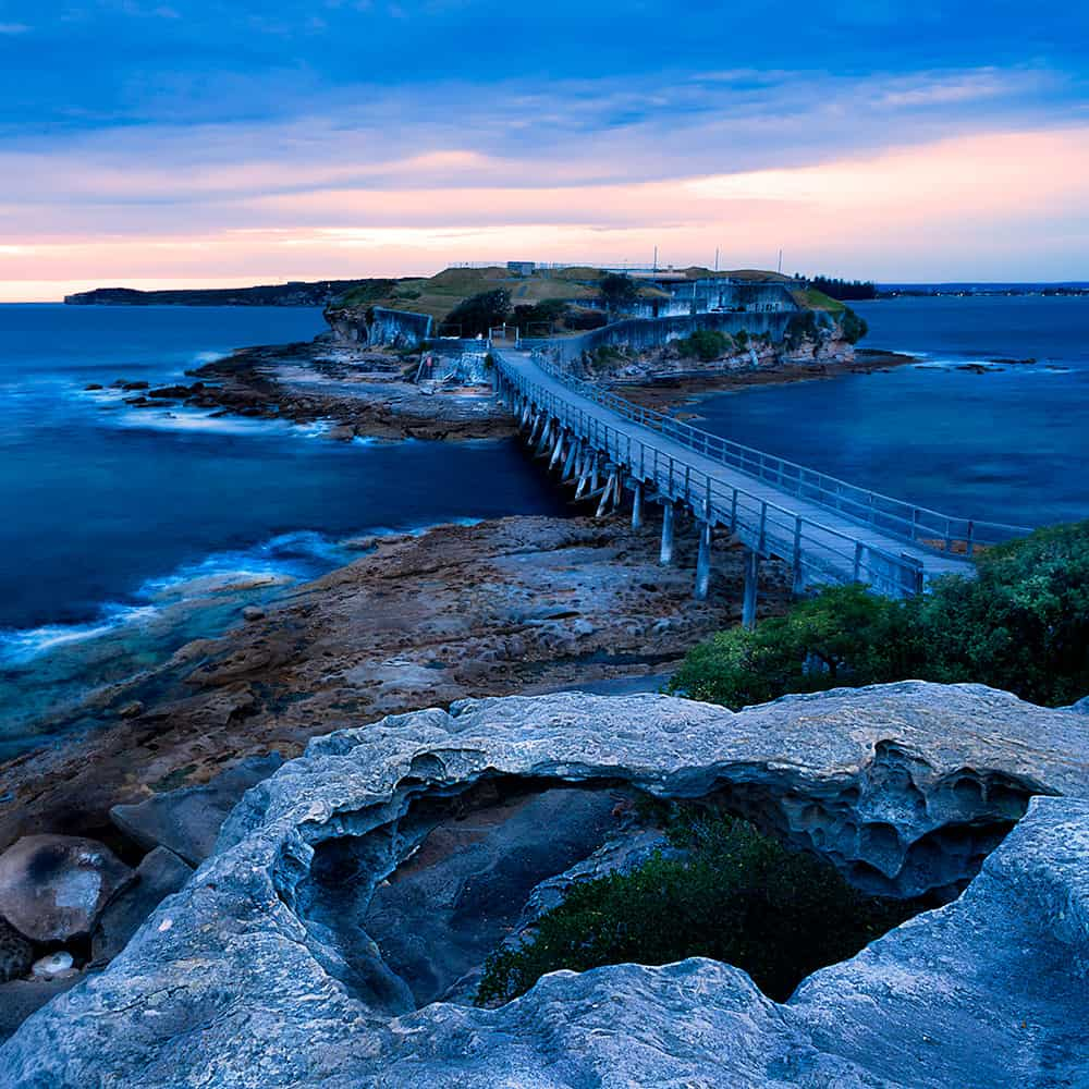 sunrise photography bare island sydney Australia