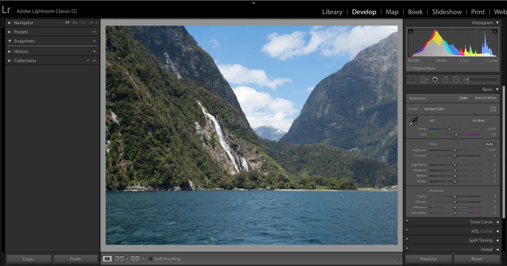 Edit With Adobe Lightroom Classic CC Step 0