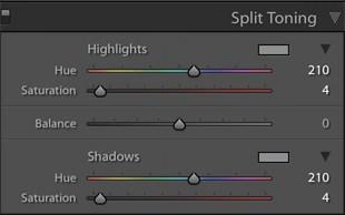 Edit with Adobe Lightroom Classic CC Split Toning