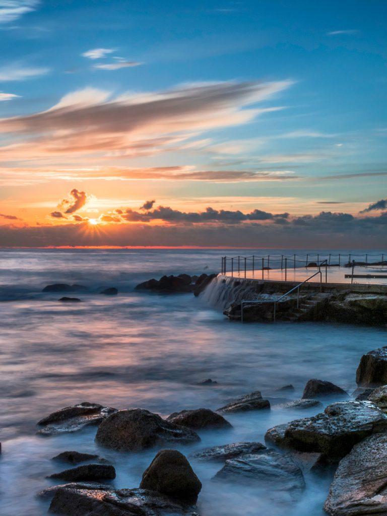 Bronte Ocean Pool. Most Instagrammable spots in Sydney