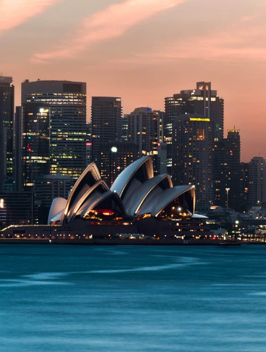 Opera House from Cremorne Point