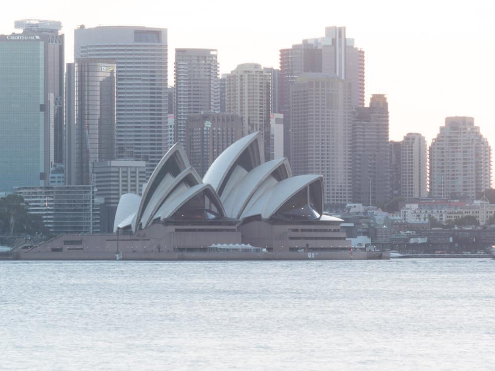 Opera House Overexposed. Landscape photography tutorial