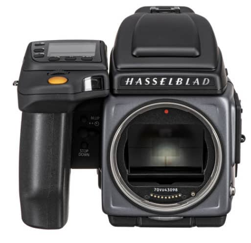 most expensive camera: medium format Hasselblad H6D-400C MS