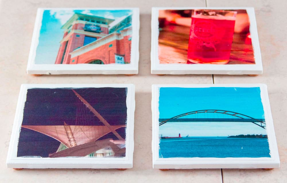 Assist children with creating photo gifts