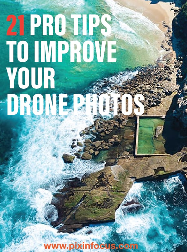 Pinterest pin Drone Photography tips