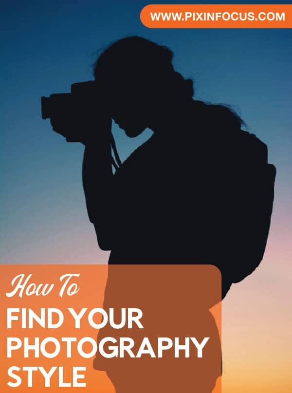 Find your photography style social media image