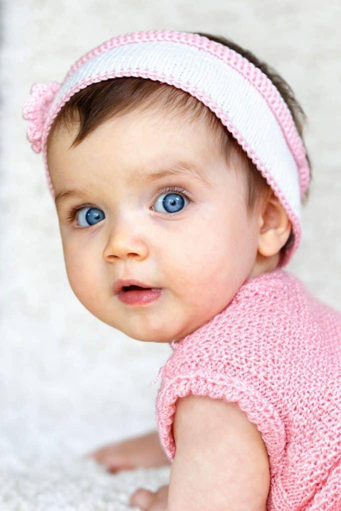 Little girl portrait. Child photography