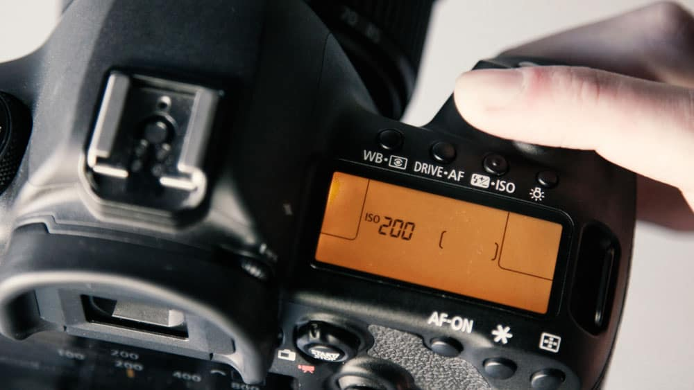 ISO 200 on a camera