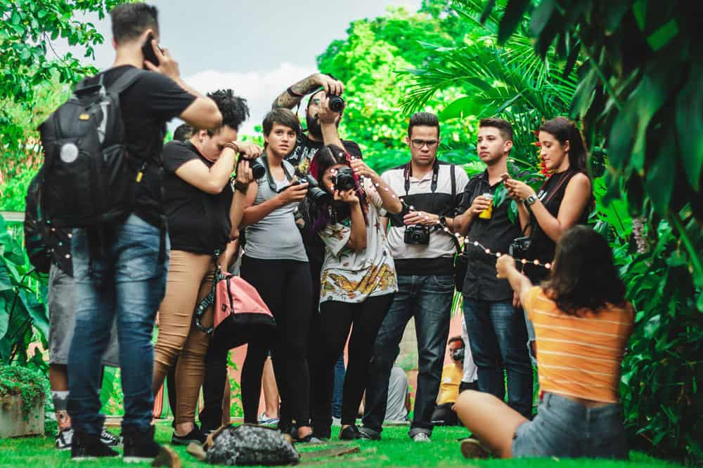 group of photogrphers