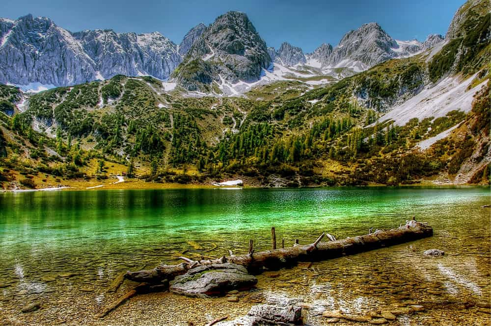 HDR image of a lake Photography Cliches