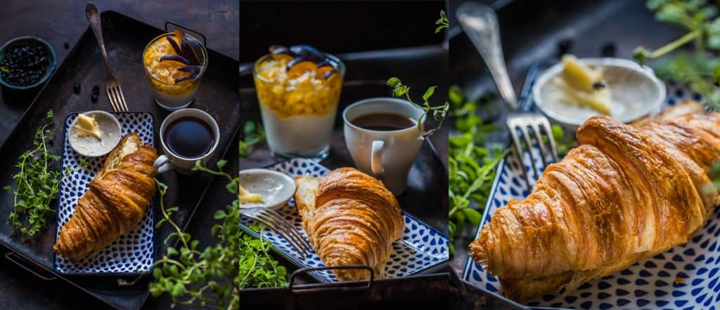 food photo from different angles