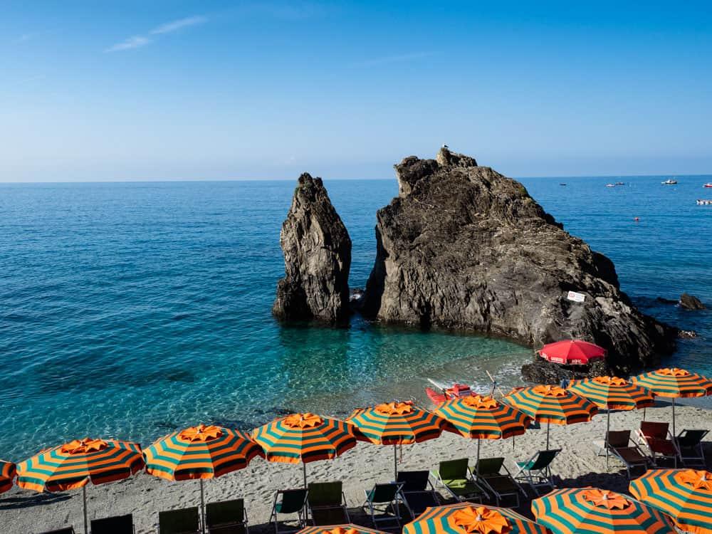 Monterosso al Mare beach, Cinque Terre