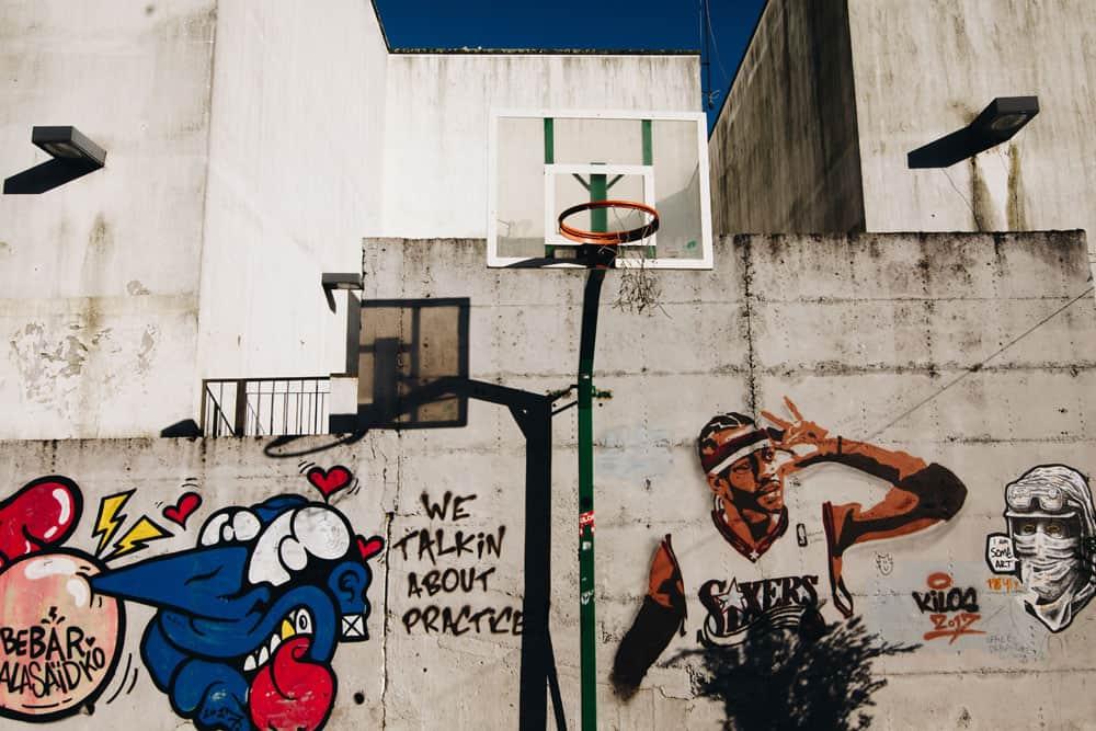 street photo of graffiti