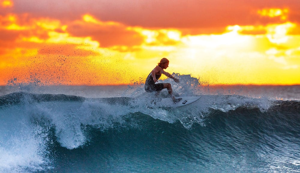 surf photography lighing