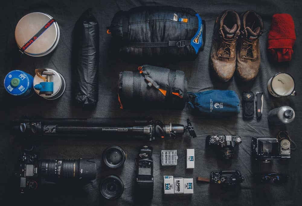 adventure photography gear