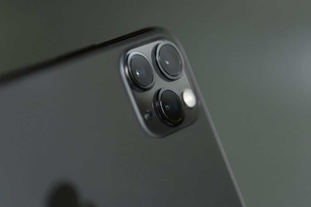 iPhone X Pro camera for selfies