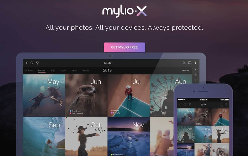 Mylio photo organizer