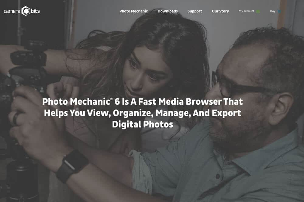 Photo Mechanic photo organizing software