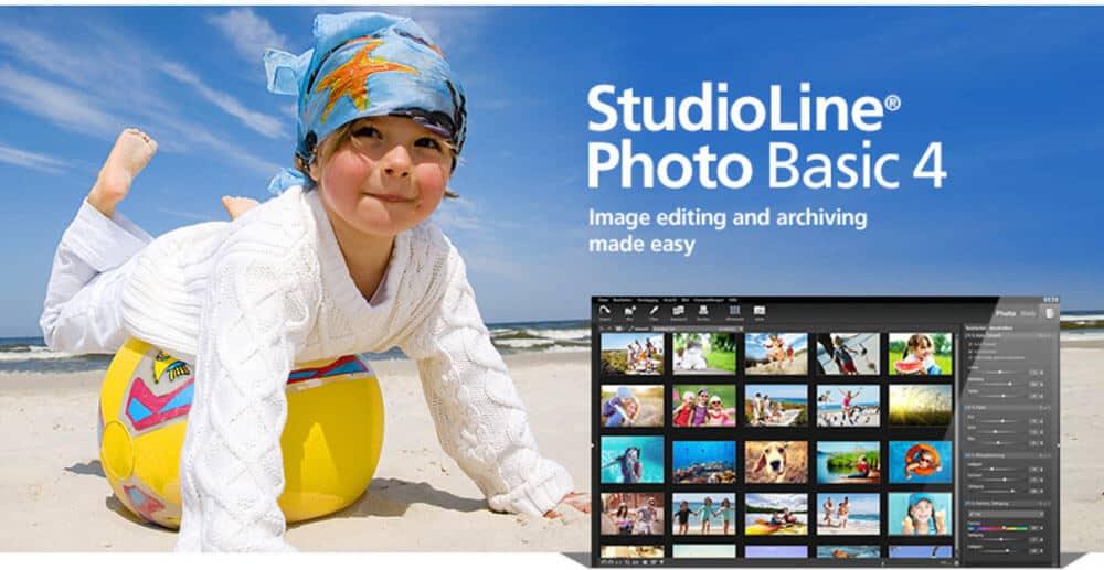 StudioLine Photo Basic 4 Photo Organizing Software
