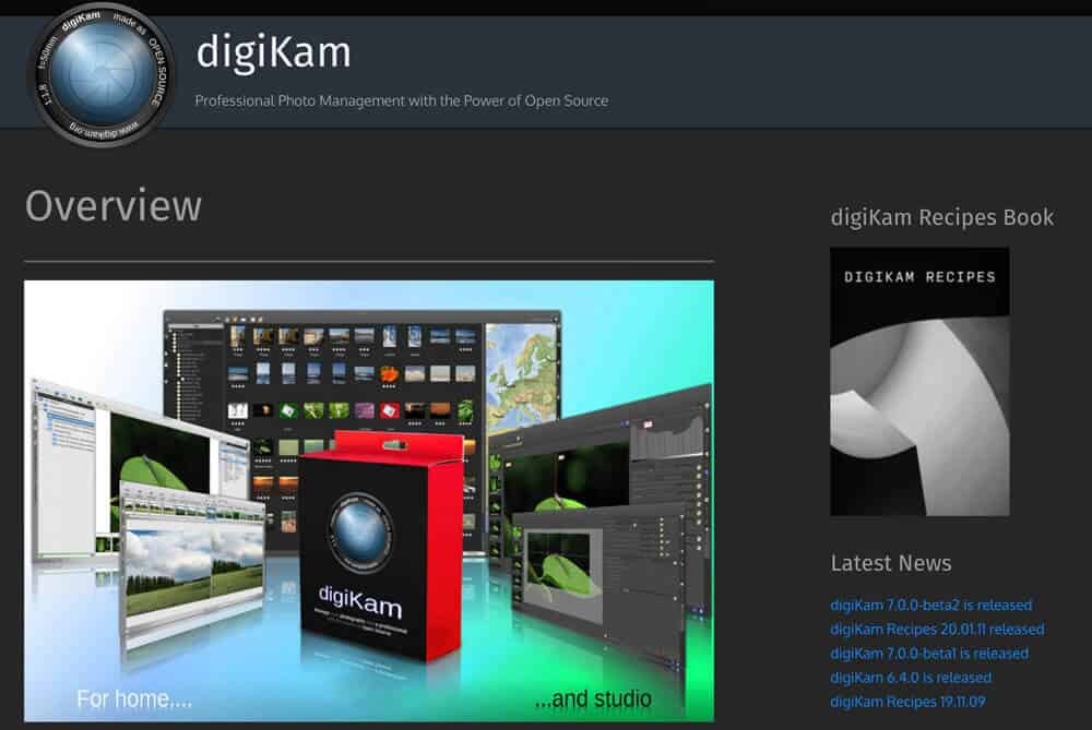 DigiKam Photo Manager