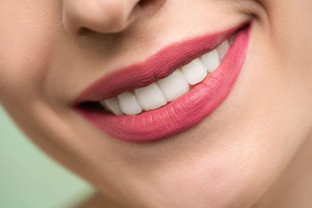 After how to whiten teeth in photoshop