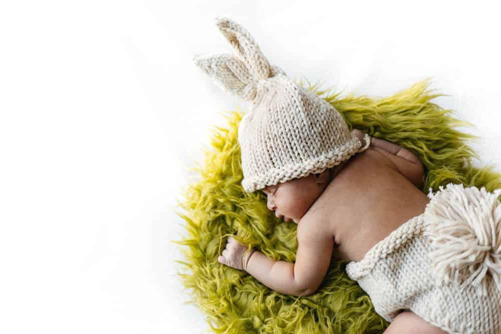 Newborn Photo seasonal theme