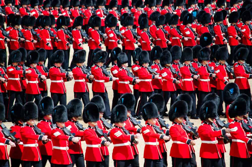Repeating Patterns soldiers