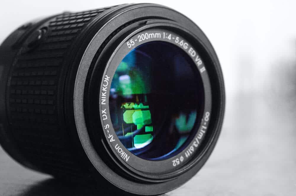 55-200mm Nikkor lens