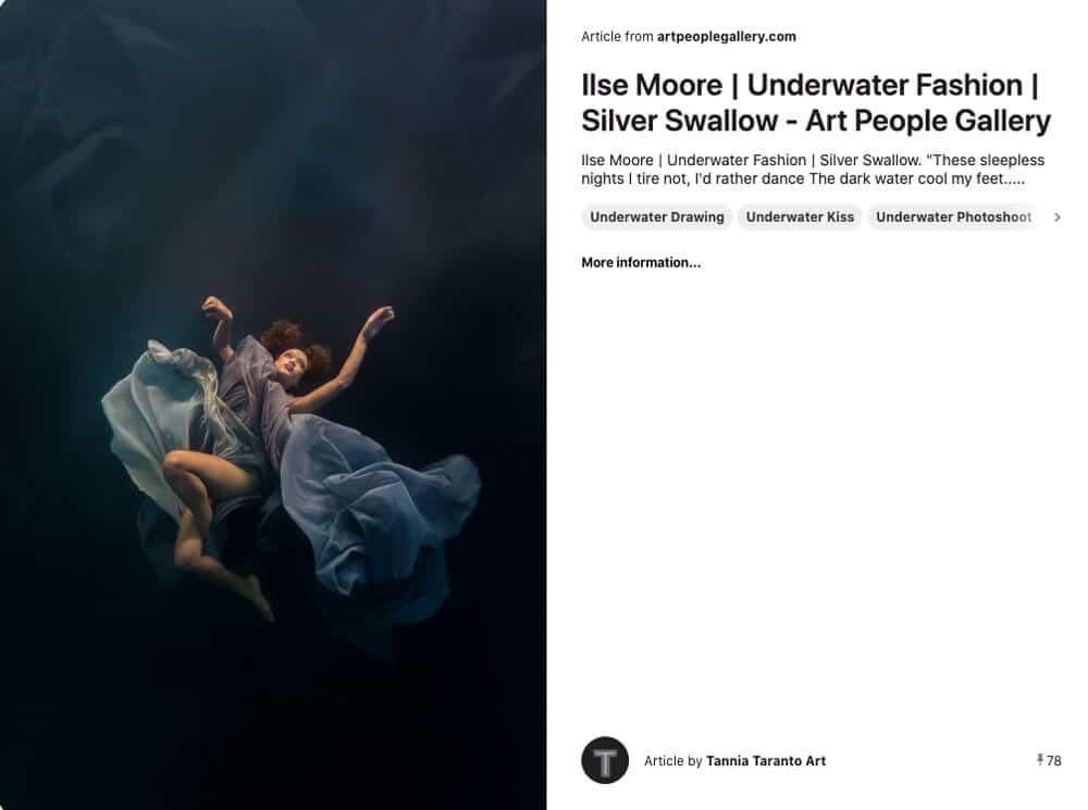 Underwater Fashion Photography