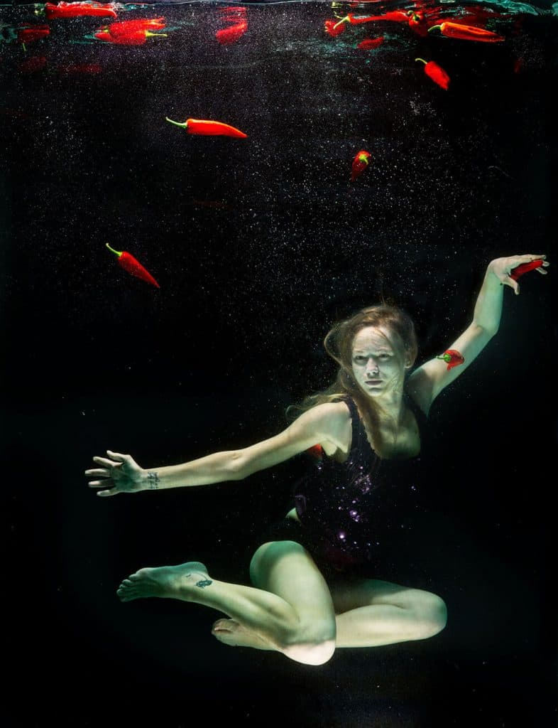 Underwater Fashion Photography