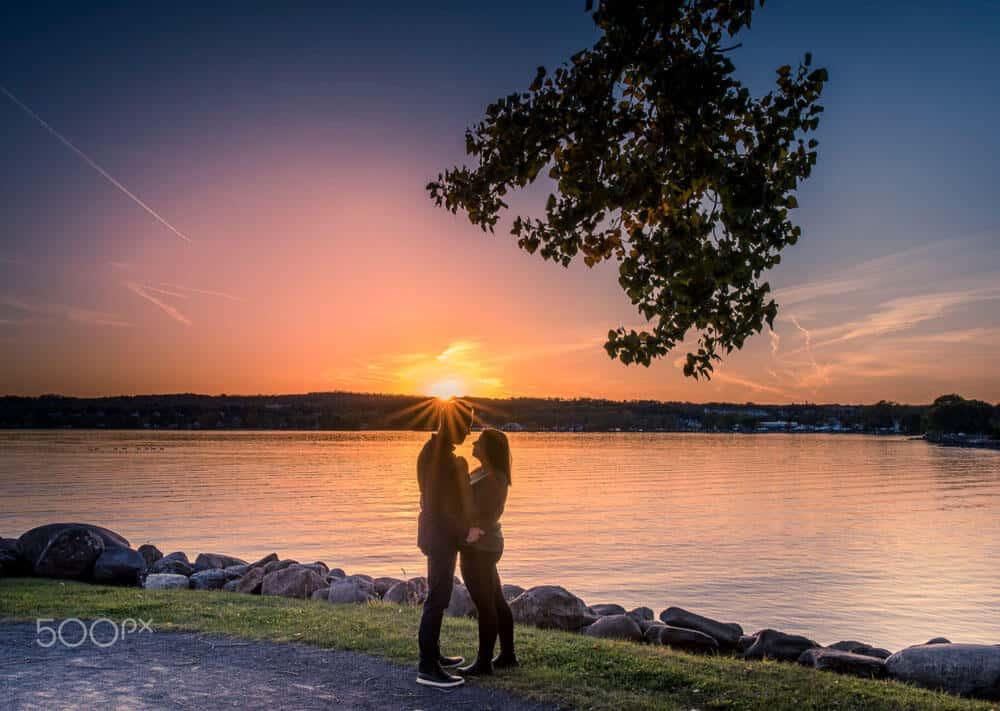romantic Silhouette Photography