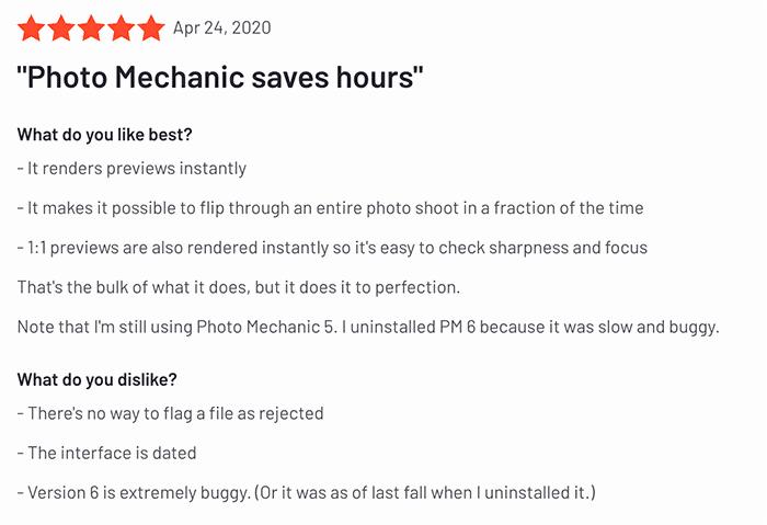 photo mechanic review